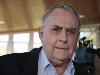 Three-time F1 World Champion Sir Jack Brabham