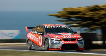 Jamie Whincup will start Race 22 from pole position