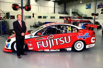 Garry Rogers and his Fujitsu-backed entry for next year's Championship Series