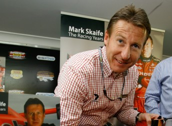 Mark Skaife heads the V8 Supercar Car of the Future project