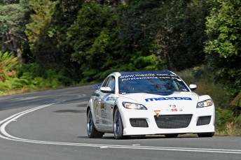 Steve Glenney and the Mazda RX-8 SP set for 2010 Targa return