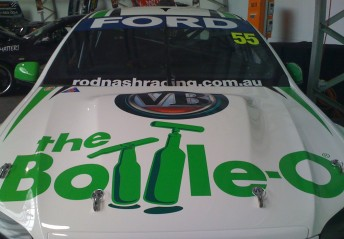 The Bottle O Racing Falcon will feature signage from Victoria Bitter