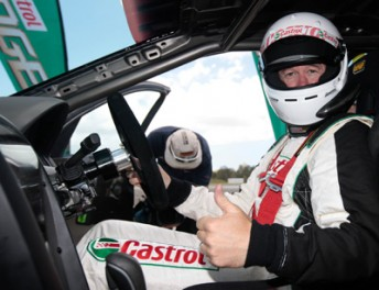 Greg Murphy will miss the first round of the V8 Supercar Championship Series at the Yas Marina Circuit in Abu Dhabi