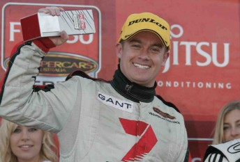 Grant Denyer will return to the Sunrise program, leaving behind his improving Fujitsu V8 Series drive