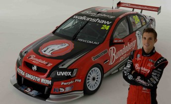 Andrew Thompson will drive the #10 Bundaberg Red Racing Commodore, prepared by Walkinshaw Racing