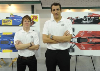 Mike Conway and Justin Wilson will form the strongest ever driver line-up for Dreyer & Reinbold Racing this season