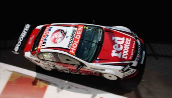 Garth Tander's first race of 2010 will be one he'll wish to forget quickly