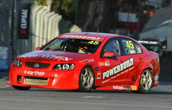 Steve Owen in his Greg Murphy Racing Holden Commodore VE