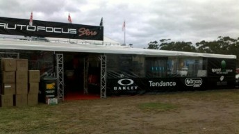The Speedcafe Shop is located within the Autofocus Store