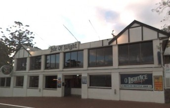 Phillip Island's Isle of WIght hotel was completely destroyed by fire this morning (Image: Google)