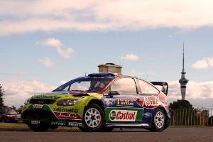 Jari-Matti Latvala was quickest in the Rally NZ shakedown in Auckland