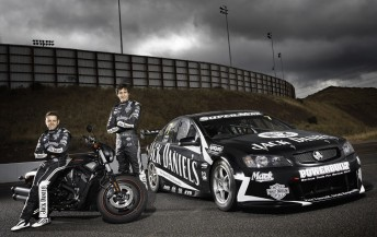 Jack Daniel's Racing drivers Todd and Rick Kelly