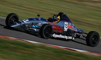 New Formula Ford championship leader Chaz Mostert