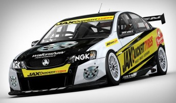 The Jax Quickfit Tyres Commodore that Cameron McConville will race at Winton and Townsville