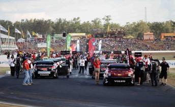 Queensland Raceway's V8 Supercars round last weekend