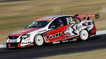 Garth Tander will have a new Holden Commodore VE in the coming rounds
