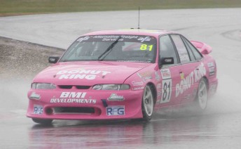 Adam Beechey and Dean Crosswell won the opening Commodore Cup race at Winton today
