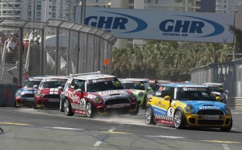 MINI Challenge will return to the streets of Surfers Paradise this year