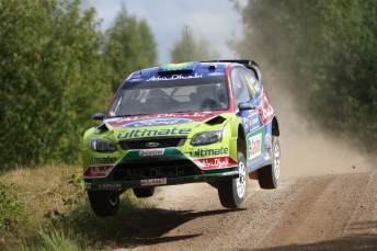 Jari-Matti Latvala leads the way in Finland