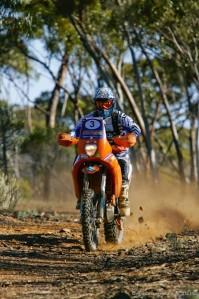 Ben Grabham remains in control in the bike segment