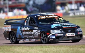 Charlie O'Brien stepped in a V8 Ute this year