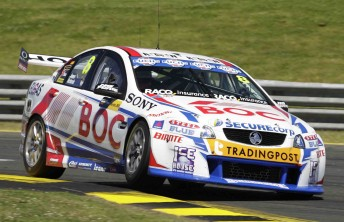 Jason Richards was replaced at Sandown by Andrew Jones
