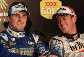 Will Mark Winterbottom and james Courtney be team-mates in 2011?