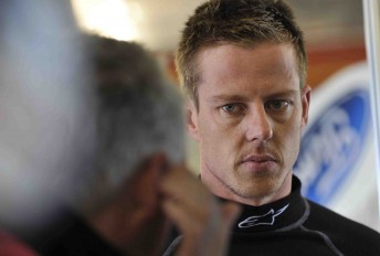 James Courtney will take the #1 plate to the HRT next season