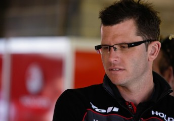 Garth Tander will be joined by James Courtney at HRT next season