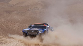 Volkswagen are aiming for a third consecutive overall Dakar victory in 2011