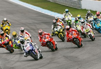 The MotoGP grid will look significantly different in 2011