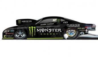 Monster Energy drinks will support Shane Tucker this season