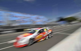 Warren Luff at the final round of last year's V8 Supercars Championship