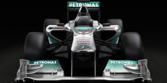 The MercedesGP W02