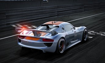 The 918 pays homage to the legendary 917