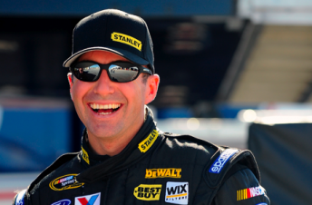 Ambrose in a relaxed mood during pre-season Daytona testing