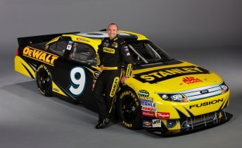 Ambrose with the Stanley Ford he'll race at Daytona