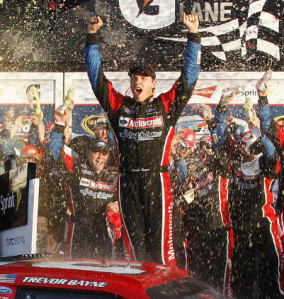 Bayne is the youngest ever winner of the 500