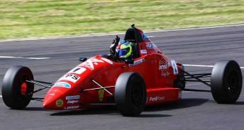 Scott Pye in his Formula Ford last year