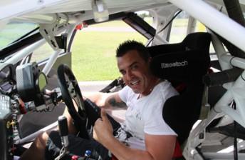 Brett Stewart in his new PMM-built Holden Commodore VE