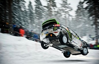Block is a stunt driver, DC Shoes brand manager and part-time World Rally Championship driver