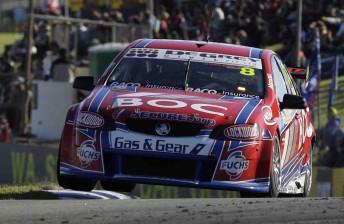 Jason Richards will drive the Team BOC Commodore VE