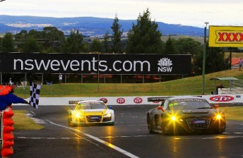 The Audi Race Experience team dominated the 2011 race