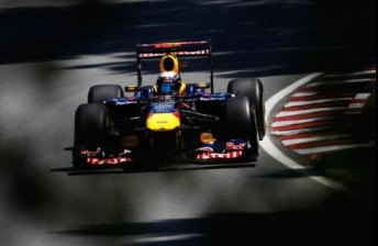 Vettel took pole number six for the season in Montreal