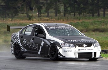 The NZ V8 SuperTourer prototype has had a number of test laps