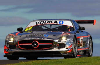 Exciting new GT3 cars like the Mercedes Benz SLS GT3 are now eligible to race in the Armor All Bathurst 12 Hour from 2012