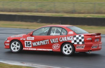 Shawn Jamieson recovered to take Race 3 in the Saloon Cars