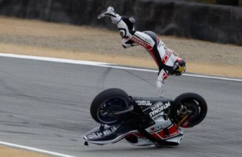 Lorenzo was up to his old tricks in Practice 3