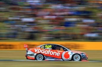Craig Lowndes at Queensland Raceway