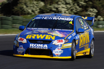 IRWIN Tools has re-signed with Stone Brothers Racing to be the title backer of the #4 Falcon for the next two years